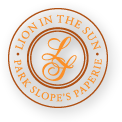 Lion In The Sun logo Park Slope