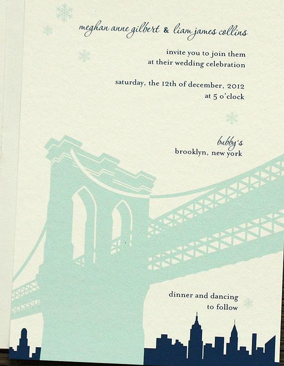 Meghan and Liam: Pineapple Street invitation