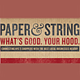 Paper and String, May 18, 2011