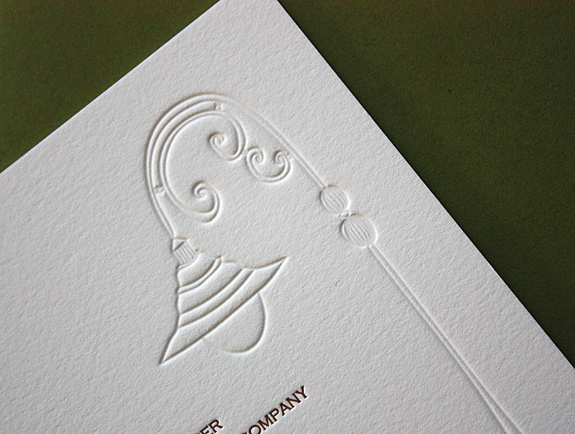 Caitlin and Christopher: York Street, invite detail