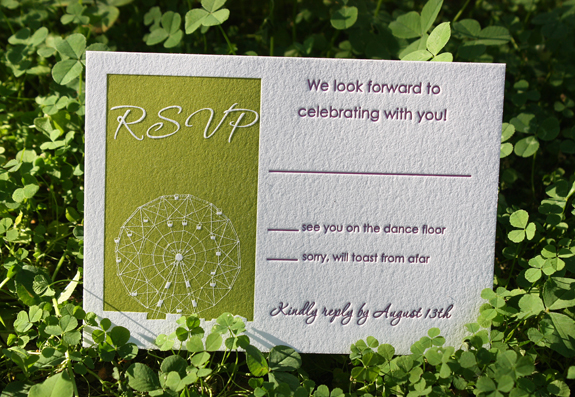 Emily and Ryan: rsvp