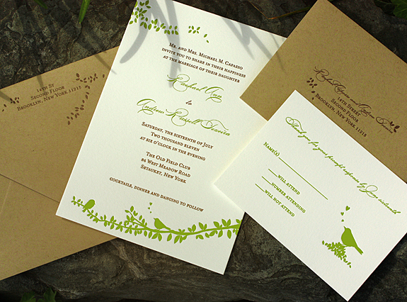 Rachael and Andrew: wedding invitation suite