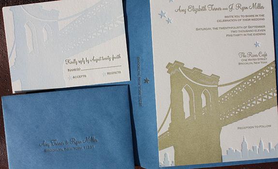 Amy and Ryan: wedding invitation suite