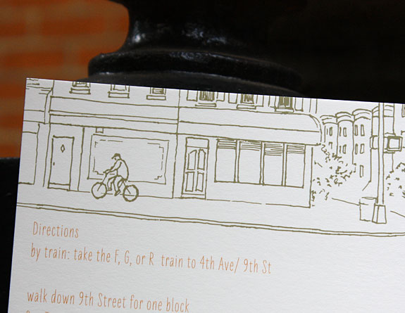 Spring Street: direction card detail