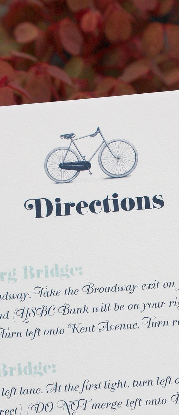 Vinegar Hill: direction card detail