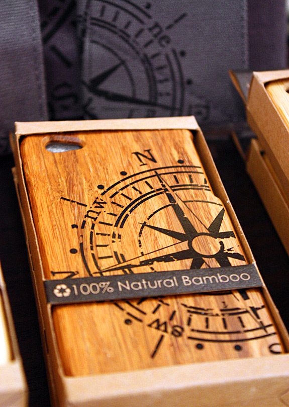 Bamboo iPhone case!