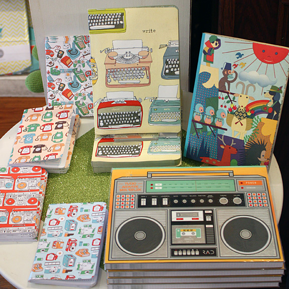 Retro journals to record your warm weather thoughts