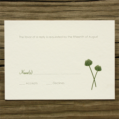 The Ramble: reply card