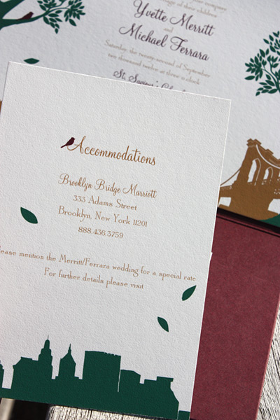 Yvette and Michael: Montague Street - Apt. B {custom}, accommodations card