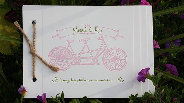 Wedding weekend celebration booklet