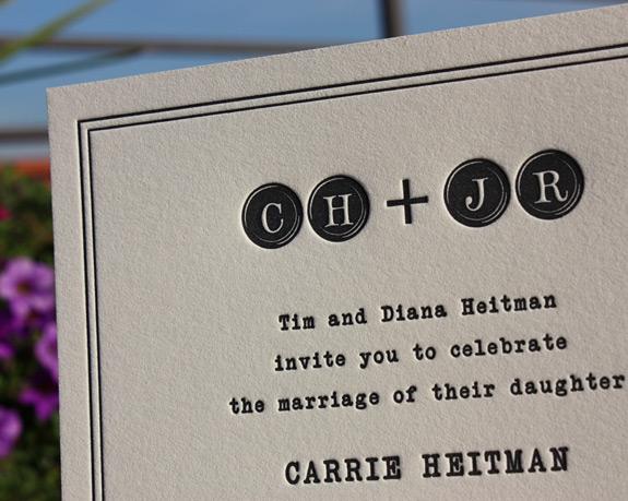 Elizabeth and Alexander: Degraw Street, invitation detail