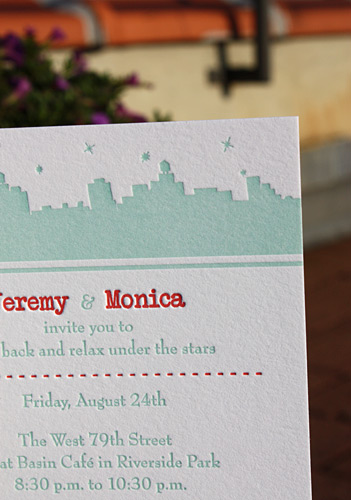 Monica and Jeremy: Riverside Drive