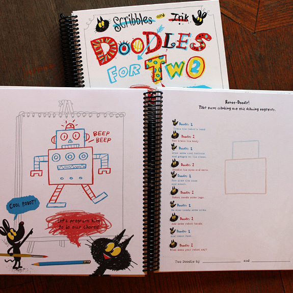 Doodles for Two for creative interacting with your little ones