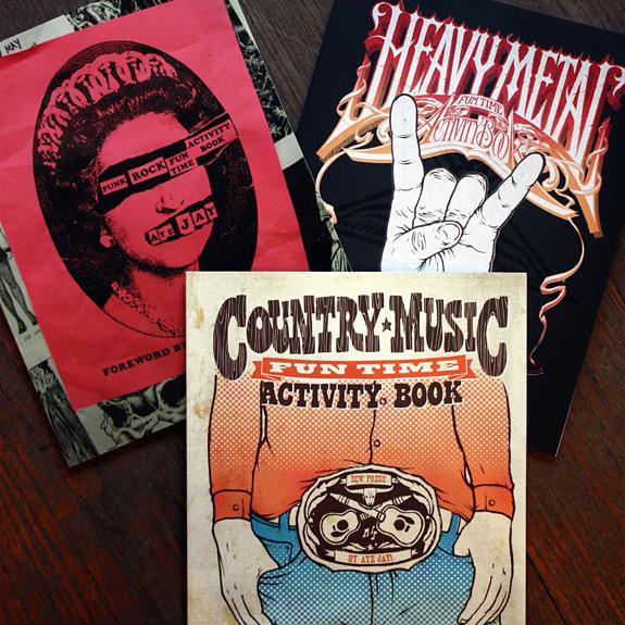 Music Activity Books