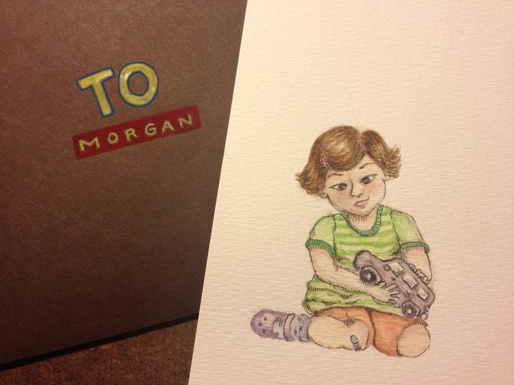 Morgan card