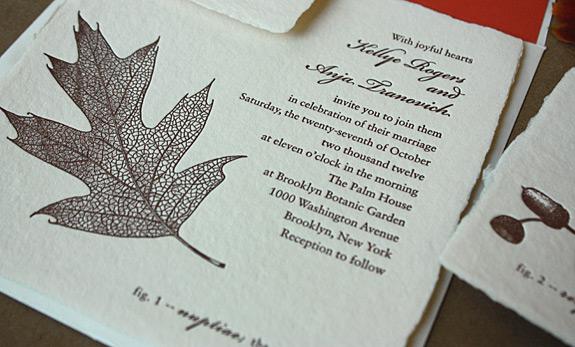 Kellye and Anja: wedding invitation suite