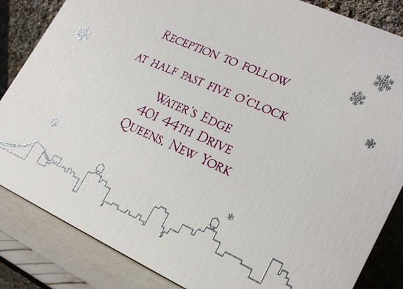 Sara and Walter: reply card
