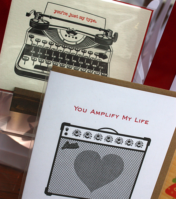 Valentine's Day Cards at Lion in the Sun of Park Slope