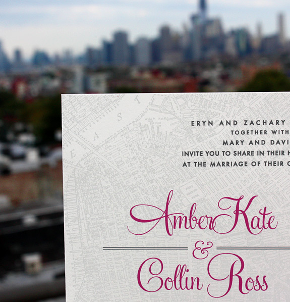Liberty View wedding invitation