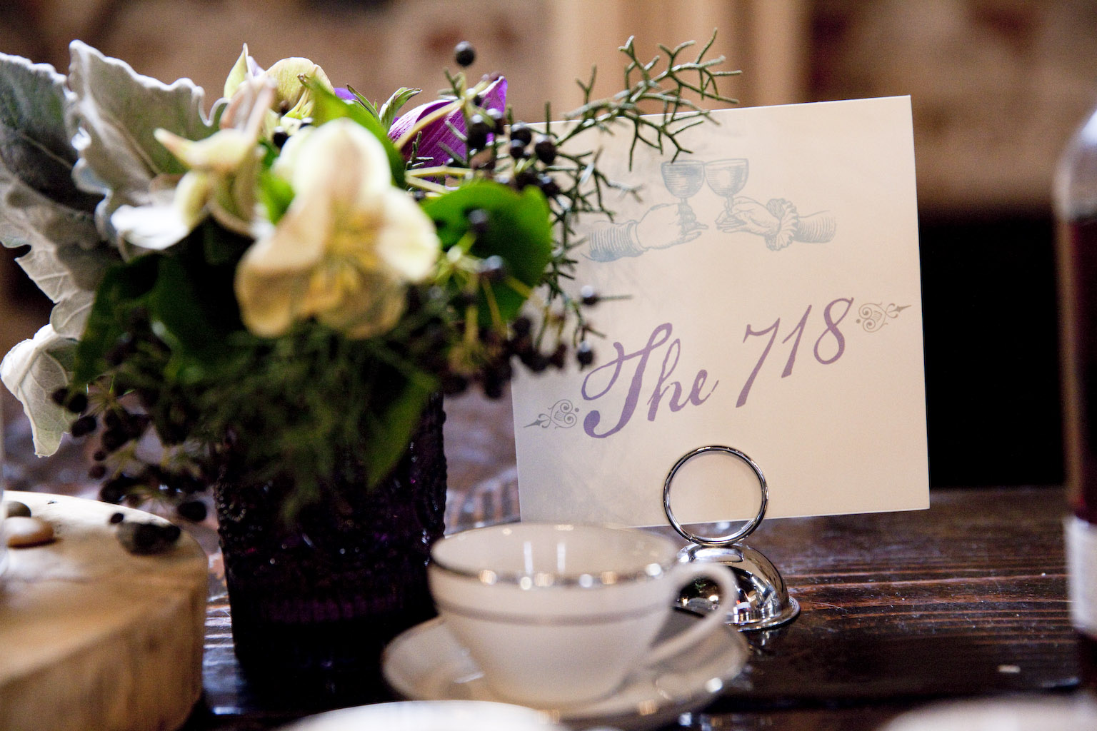 Table Numbers: The Green Building