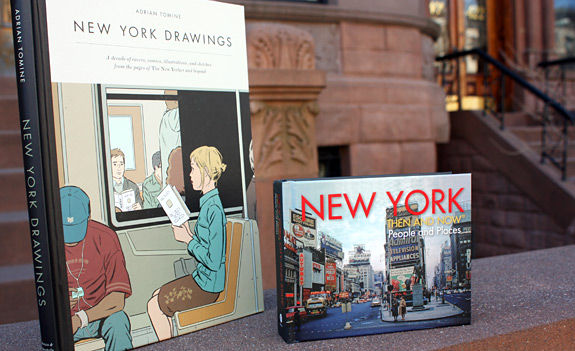 Adrian Tomine's New York Drawings and New York Then and Now
