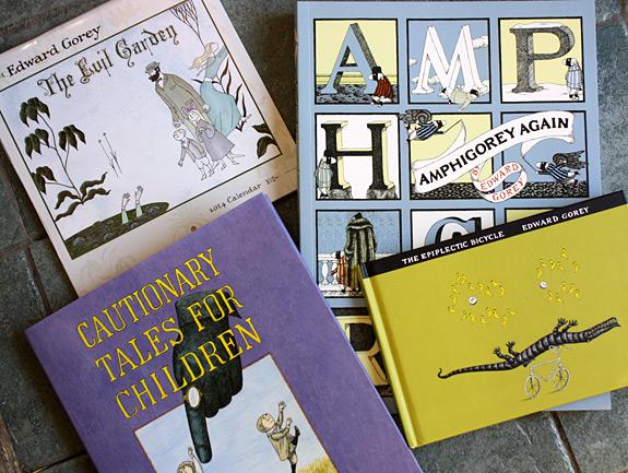 Edward Gorey books and calendars