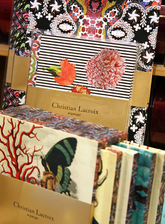 Lion in the Sun staff picks: Christian Lacroixr Papier notebooks