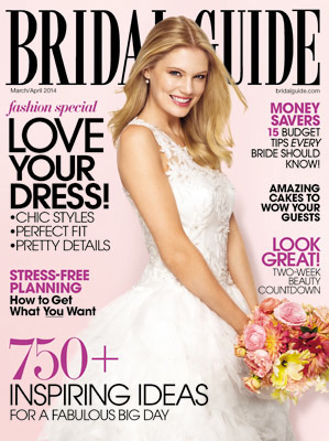 Melinda Morris in Bridal Guide as Invitation Expert for Hottest Wedding Trends of 2014