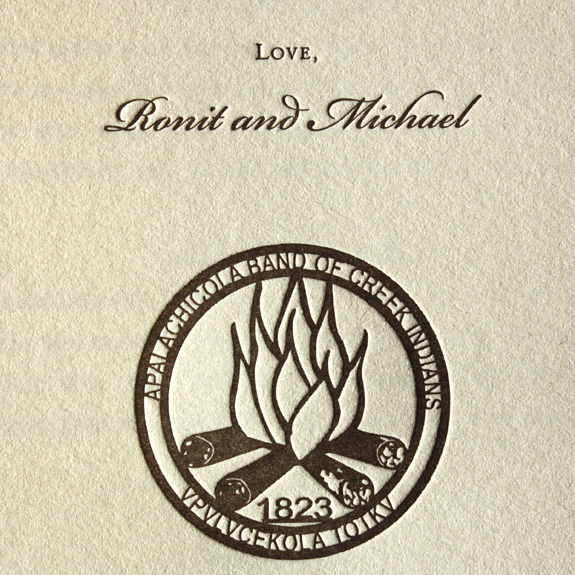 Ronit and Michael: back of program