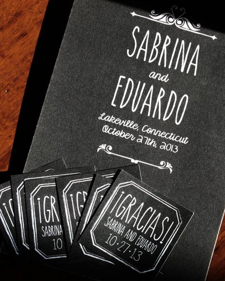 Sabrina and Eduardo: program and matching labels