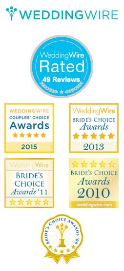 Wedding Wire 2015 Couples' Choice Award