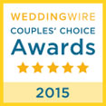 Wedding Wire 2015 Couples' Choice Award