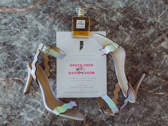 Grace and Dave featured on Green Wedding Shoes, photos by Amber Gress