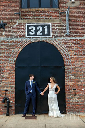 Jenny and Ben: photo courtesy of Christian Oth Studio