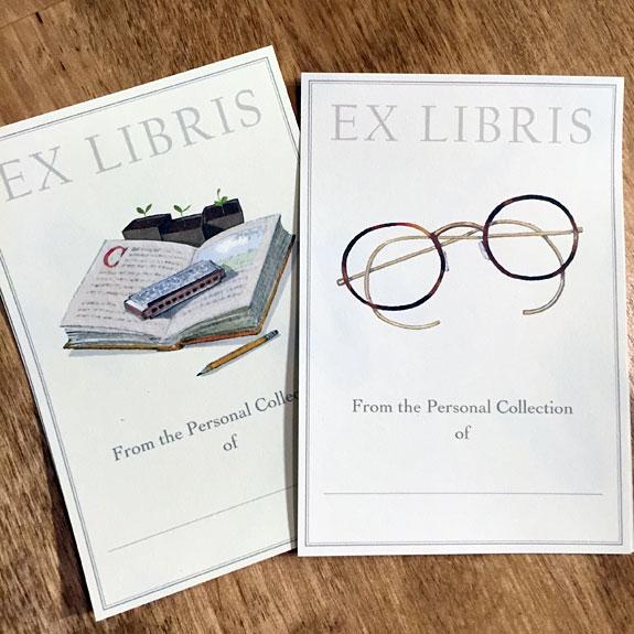Felix Doolittle bookplates