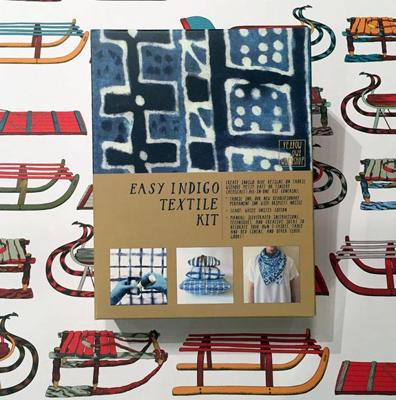 Yellow Owl Workshop's Easy Indigo Textile Kit