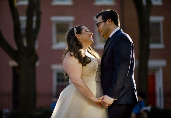 Real Wedding- Samantha and Matthew-photography by Ryan Brenizer Photography
